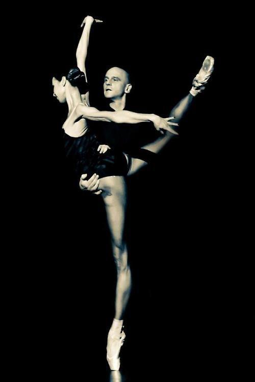 "movementaddiction:  Diana Vishneva and Jason Shipley-Holmes, ""New Work"", La La La Human Steps http://ift.tt/1sxz63b"