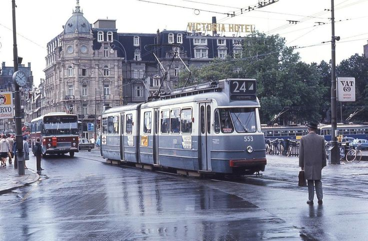 Stationsplein Amsterdam (jaartal: 1960 tot 1970) - Foto's SERC