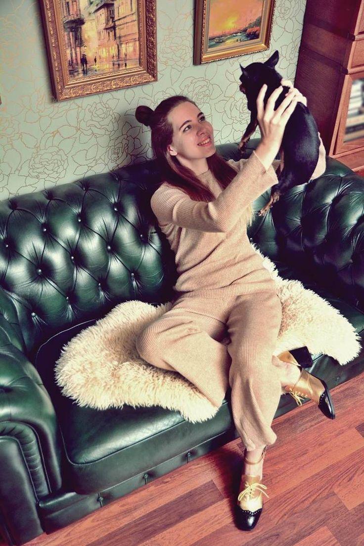 Трикотажный костюм или пижама?