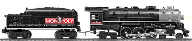 Lionel 6-38678 Monopoly Hudson Jr.
