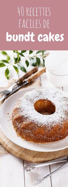 Au chocolat, au citron, aux myrtilles : 40 recettes faciles de bundt cakes !