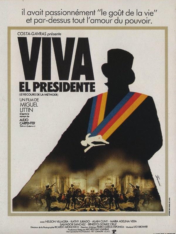 Restrospectiva de Miguel Littin. 'Viva el Presidente: El recurso del método' (1978). Para más información clik en la imagen.