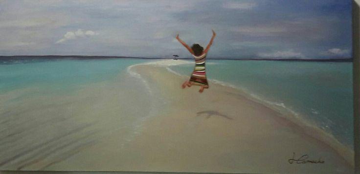 Sobre el mar de Maldivas