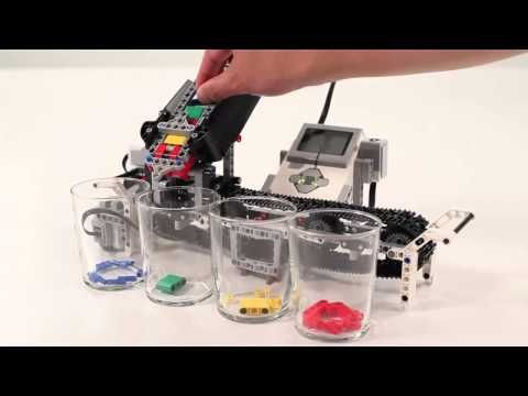 LEGO MINDSTORMS EV3- Color Sorter - YouTube