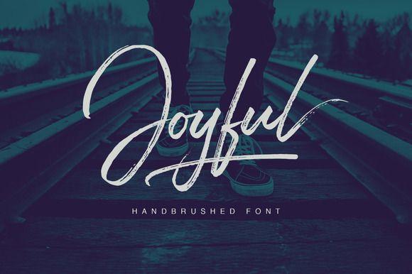Joyful Script by Get Studio on @creativemarket