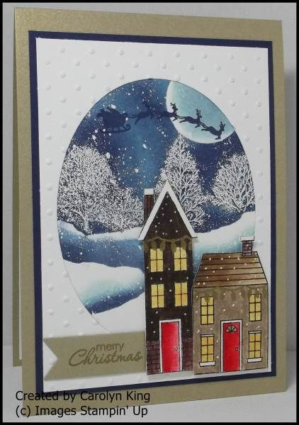 "King's on Paddington: Tutorial ""Snowy Christmas Village"""