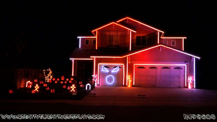 I wish I had this much time for my house. I am pretty sure he wins on his block every year.