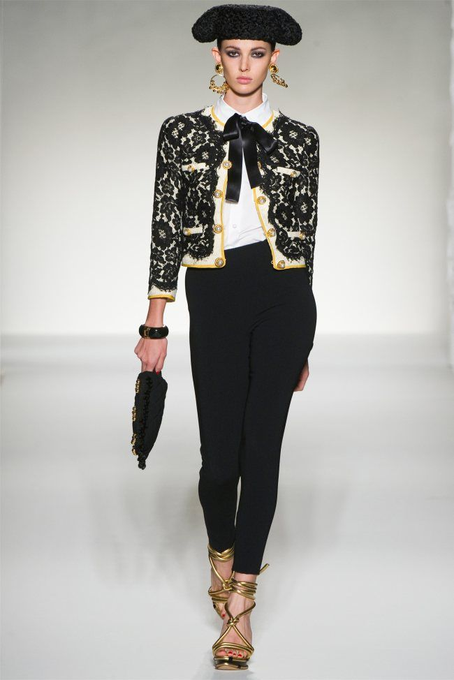 love the moschino matador jacket