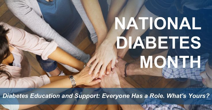 November is National Diabetes Month. The National Diabetes Education Program is highlighting the need for ongoing diabetes education and support among people with diabetes and those who care for them.