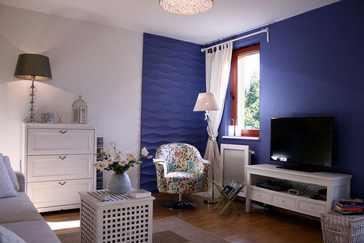 Interior design - decorative panel imitating a slightly waving surface. #interiordesign