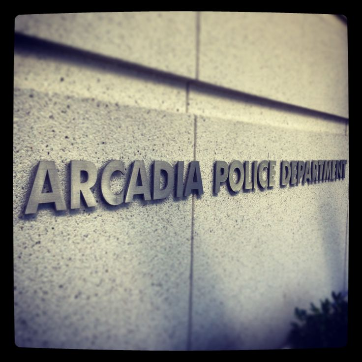 Welcome to the Arcadia Police Department LawEnforcement