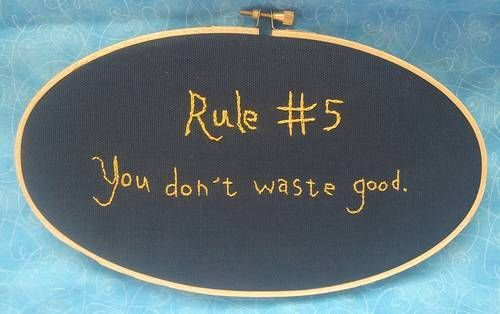 NCIS Gibbs' rules - made by Redstar13