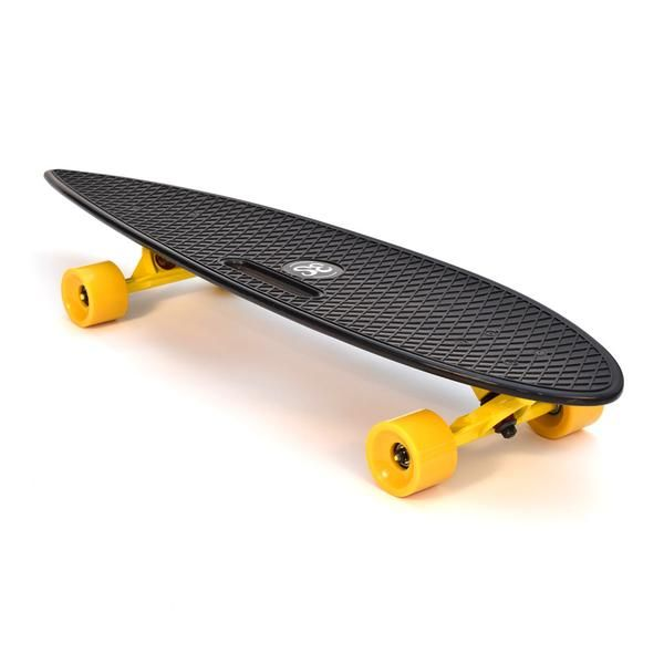 Our 3Style® Skateboards Longboard features a plastic injection moulded deck with grooved trucks that echo the look and feel of retro 70's Californian Style. The complete cruiser is outfitted with 69-millimeter 83A PU Wheels, 180-millimeter trucks and premium Abec 9 bearings.