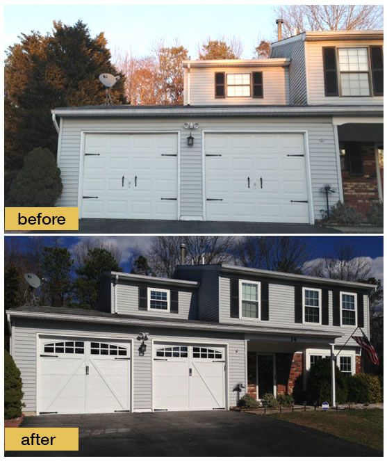 Before And After Garage Remodels: 159 Best Images About Before And After Exterior Makeovers