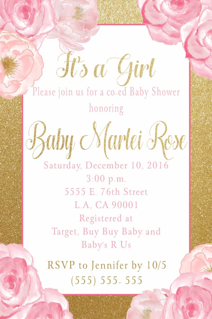 105 best BABY SHOWER/ SIP & SEE/ GENDER REVEAL INVITATIONS images on ...