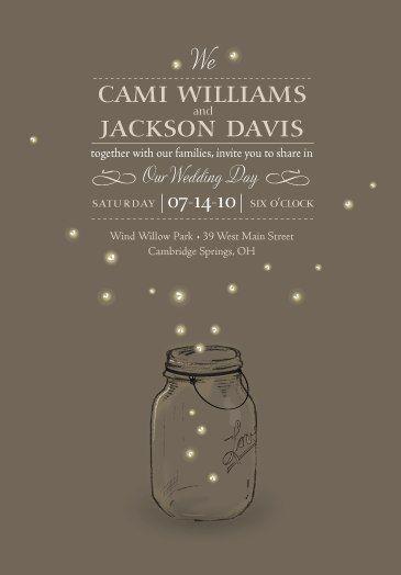Such a beautiful wedding invitation