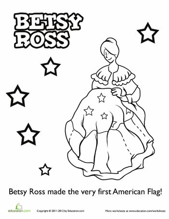 Worksheets: Betsy Ross
