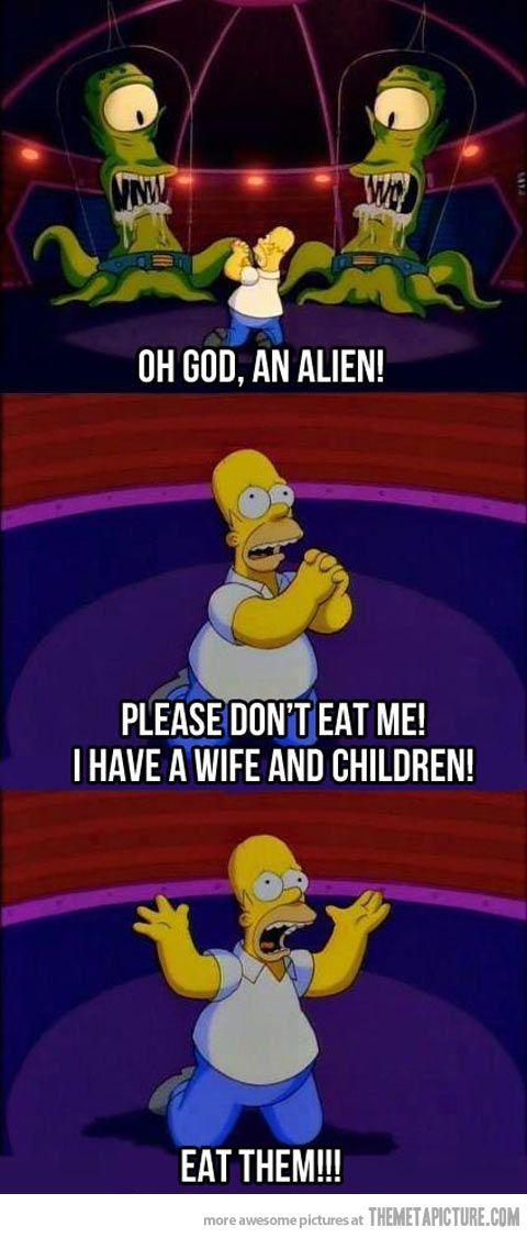 Homer being Homer…