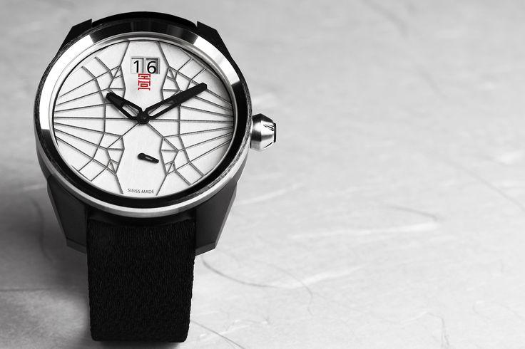 Orikata (origami watch) by Massimo Terzini (Makite)  http://www.eaa-la-chaux-de-fonds.ch/fr/news.html?pid=418#&panel1-1