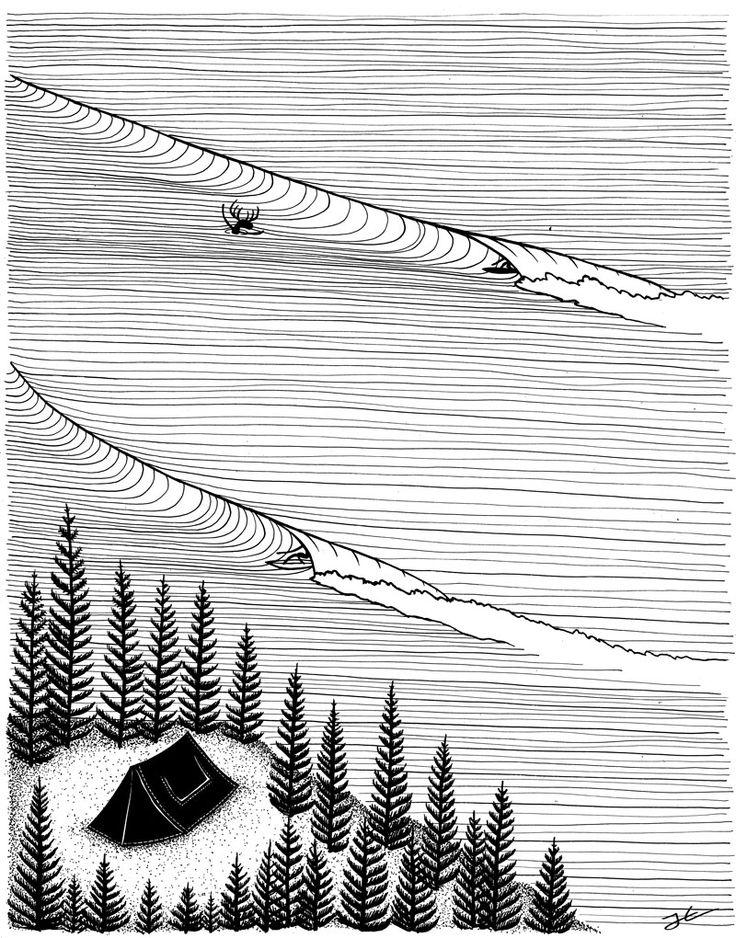 Secret Spot Surf illustration