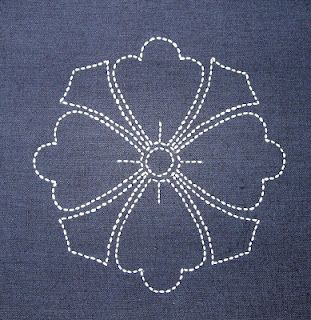 sashiko and other stitching: Sampler quilt course in Bridlington