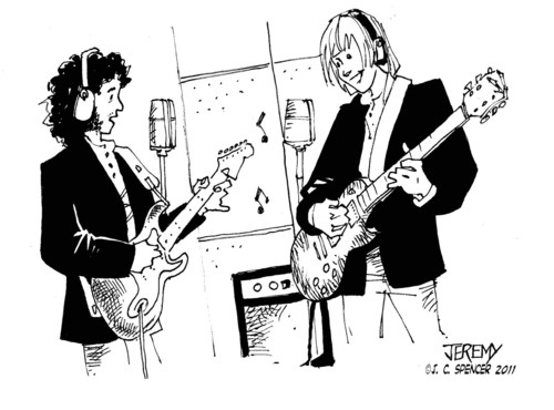 Jeremy Spencer and Danny Kirwan from the original