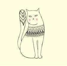 cat illustration - Hľadať v Google
