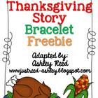 I've adapted the story that goes with the Thanksgiving Bracelets craft in this packet.  Included is a one page summary of the craft along with a picture of the finished product.  I've also included a 12 page mini booklet students can color to go along with the craft.