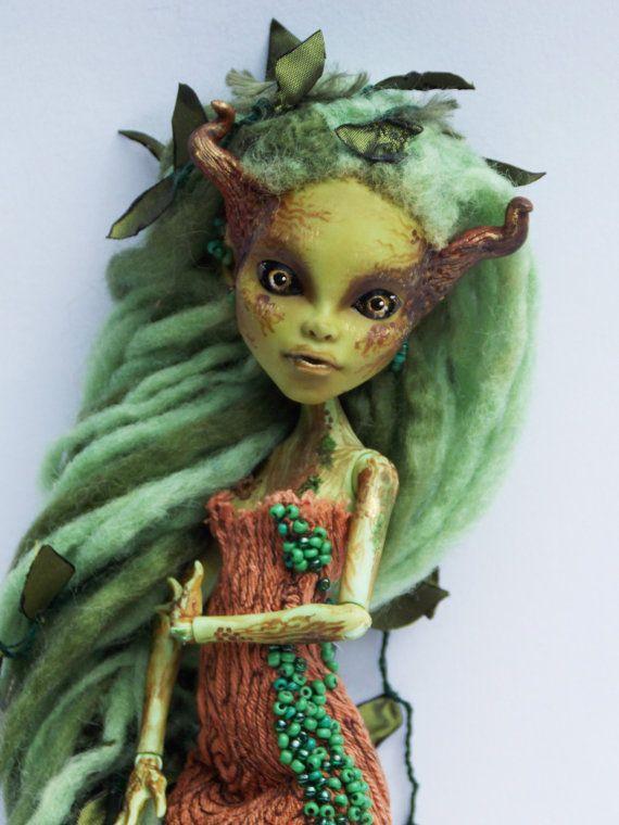 Monster High Custom Art Doll - Tree Spirit/Dryad