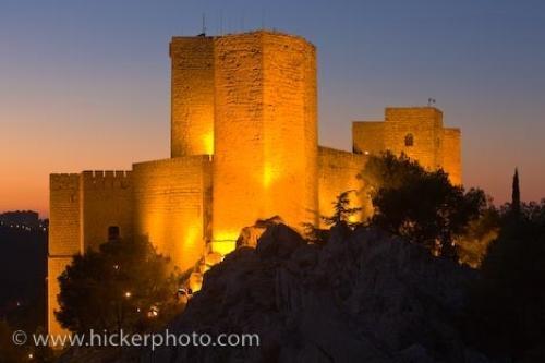 Castillo De Santa Catalina Jaen Andalusia Spain