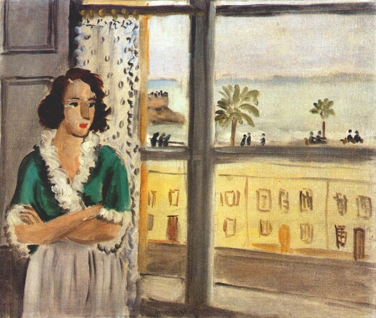 Girl by a Window by Henri Matisse, 1921