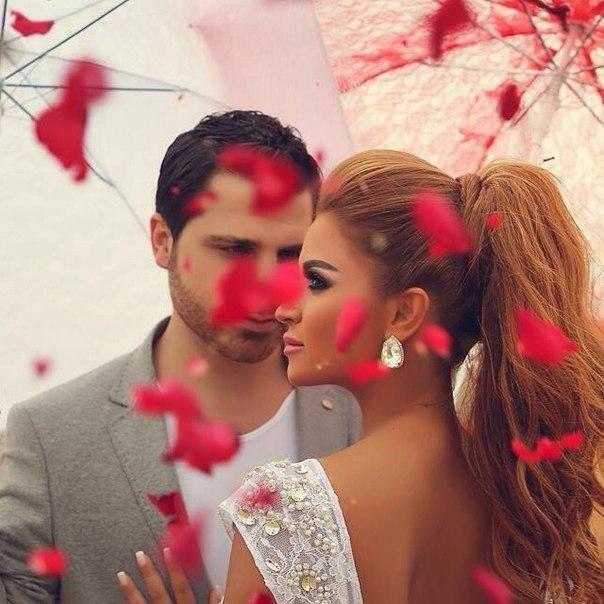 Прическа на второй день свадьбы