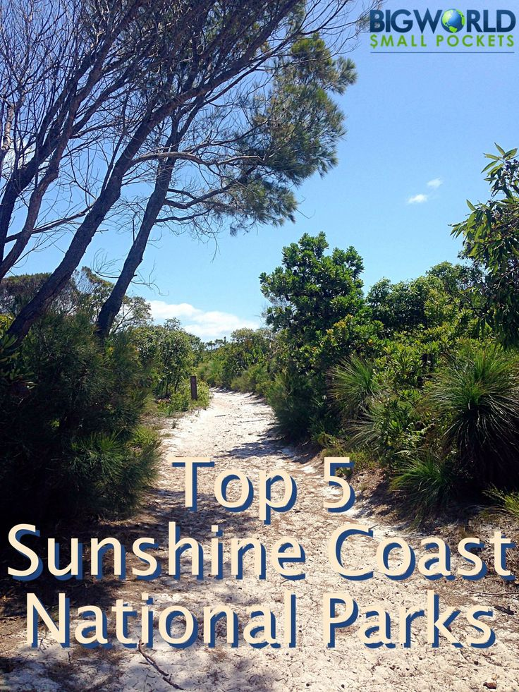 Top 5 Sunshine Coast National Parks