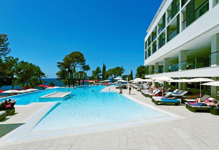 Swimming pool at the hotel #Porec