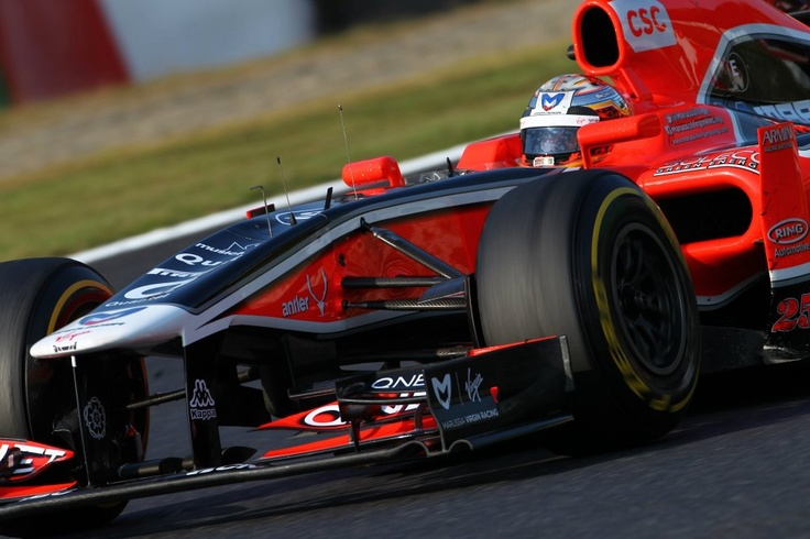 Antler en la F1