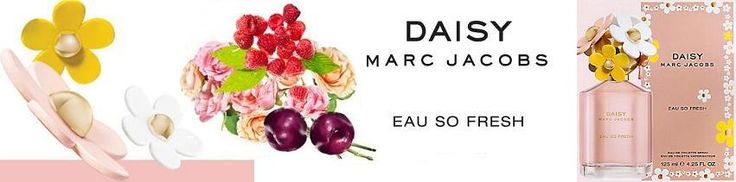 Marc Jacobs Eau So Fresh női parfüm  Vidám hangulatot és sziporkázó életerőt sugároz.  http://www.parfumdivat.hu/parfumdivathazak/marc-jacobs-daisy-eau-so-fresh-noi-parfum.html