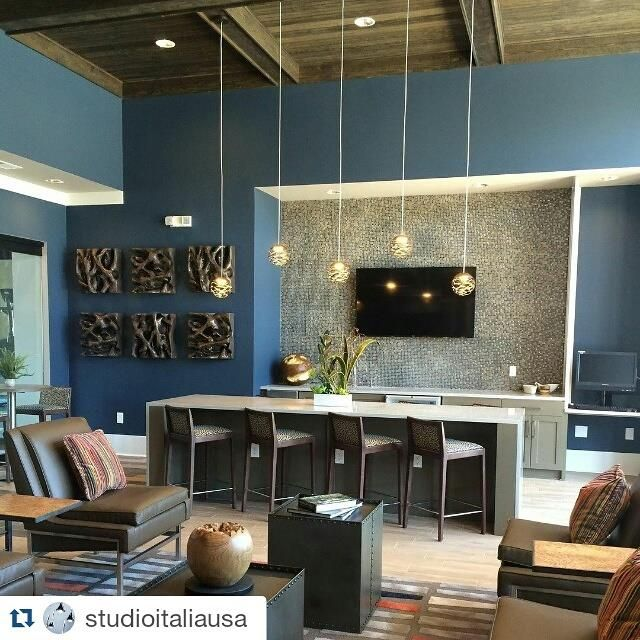 A BIG thank you to Focus Design Interiors for sending us this picture of their Summit Crossing project in Cumming, Georgia. Our Kelly pendants (these are the smallest size), look fantastic in this room, lending it interest without being overwhelming. We love it! #lighting #lightingdesign #decorativelighting #homedecor #interiordesign #ceilinglights #lasercut #studioitaliadesign