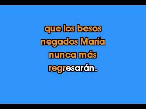 Cafe Tacuba - Maria....karaoke