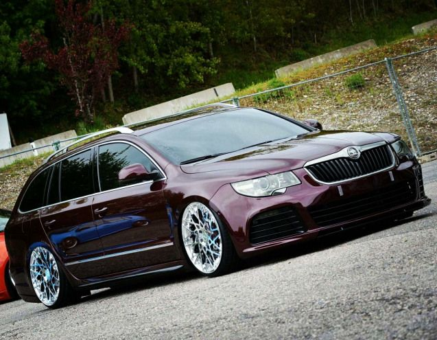 Stationwagon Station Wagon Wallpaper Skoda Superb Skoda