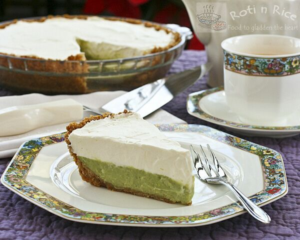 For glutenfree dessert use coconut milk for this Pandan cream pie. It's simply delicious.