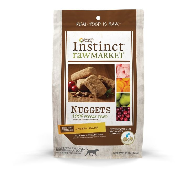 Nature's Variety Instinct Raw Market Grain-Free Freeze Dried Nuggets for Dogs => Review more details here : Best dog food