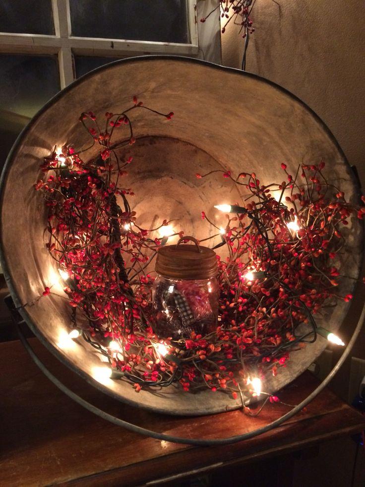 Christmas Craft Buckets