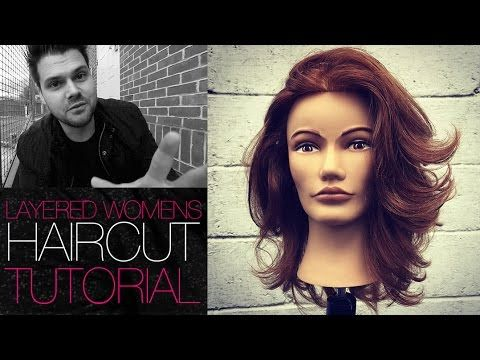 Modern Take on The Classic 180 Degree Layered Haircut - Layered Haircut Tutorial | MATT BECK VLOG 39 - YouTube