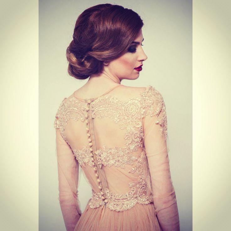 SS 15 Elen's nude dress