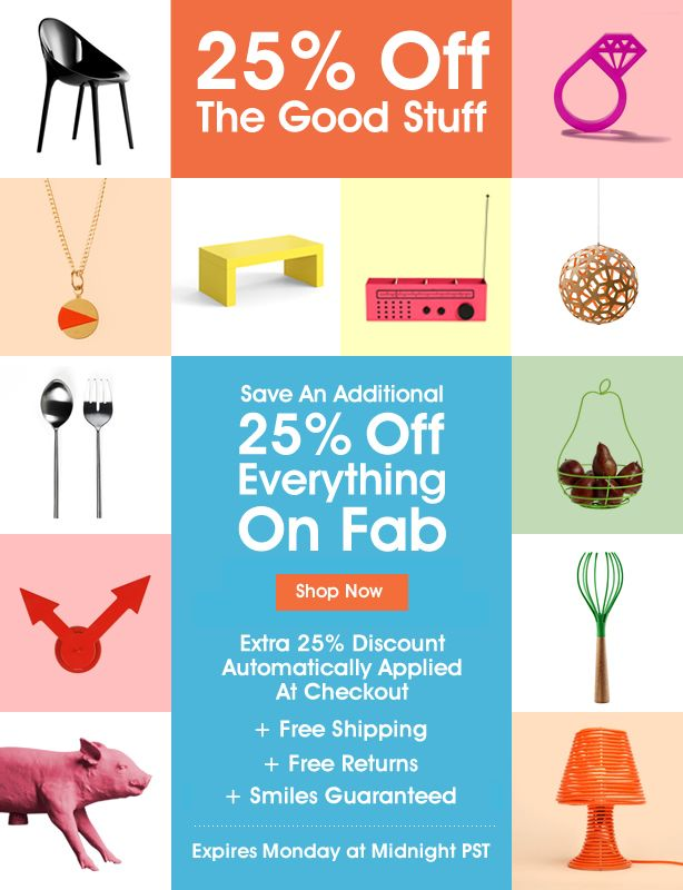 email fab promotion