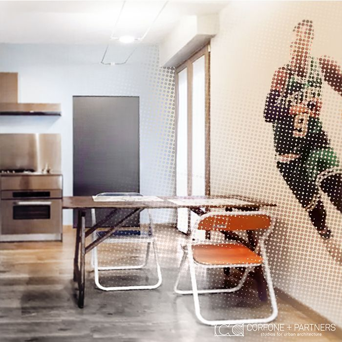 CORFONE+PARTNERS - Interior design kitchen - NT16 HOUSE