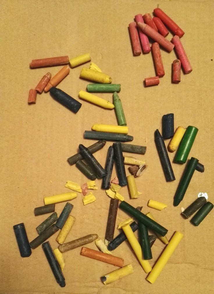 Crayones rotos