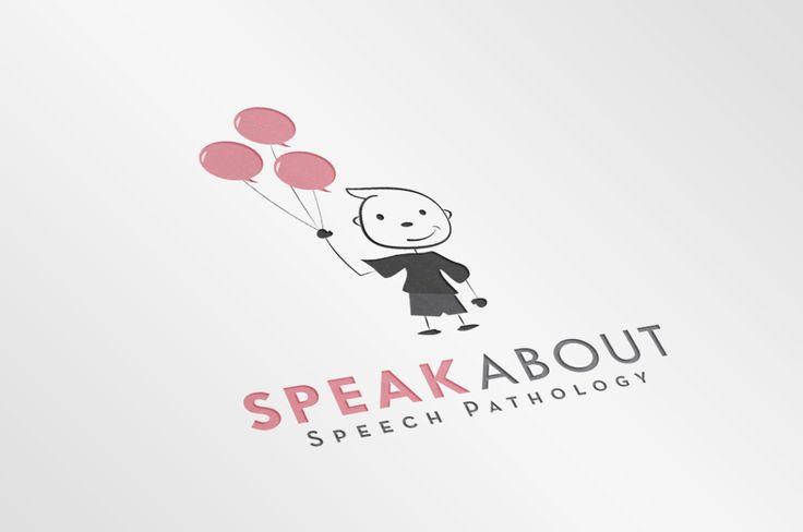 Logo design for Speak About Speech Pathology