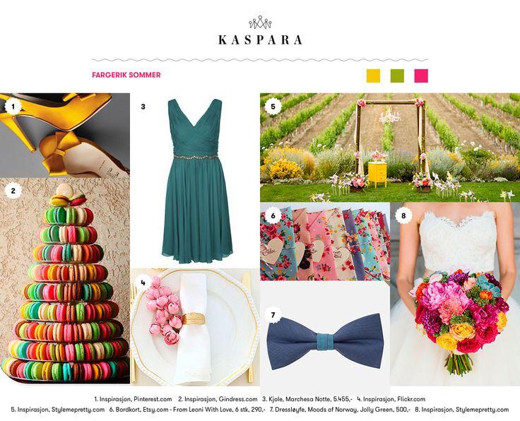 Fargerik Sommer // Colorful Summer
