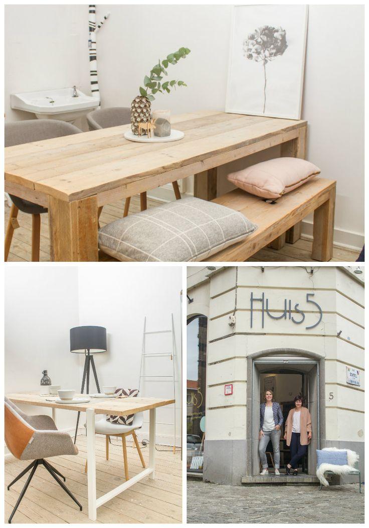 Hèt adres in België en NED voor industriële tafels en Scandinavische meubels van steigerhout, eikenhout en andere houtsoorten. Metalen onderstellen en volled